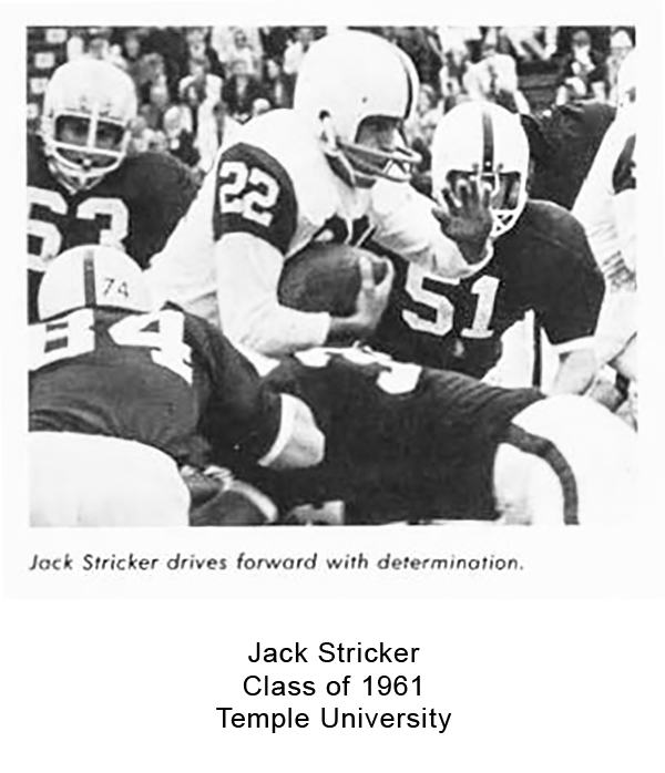 Class of 1961 Jack Stricker Temple University