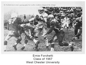 Class of 1967 Ernie Forchetti WCU