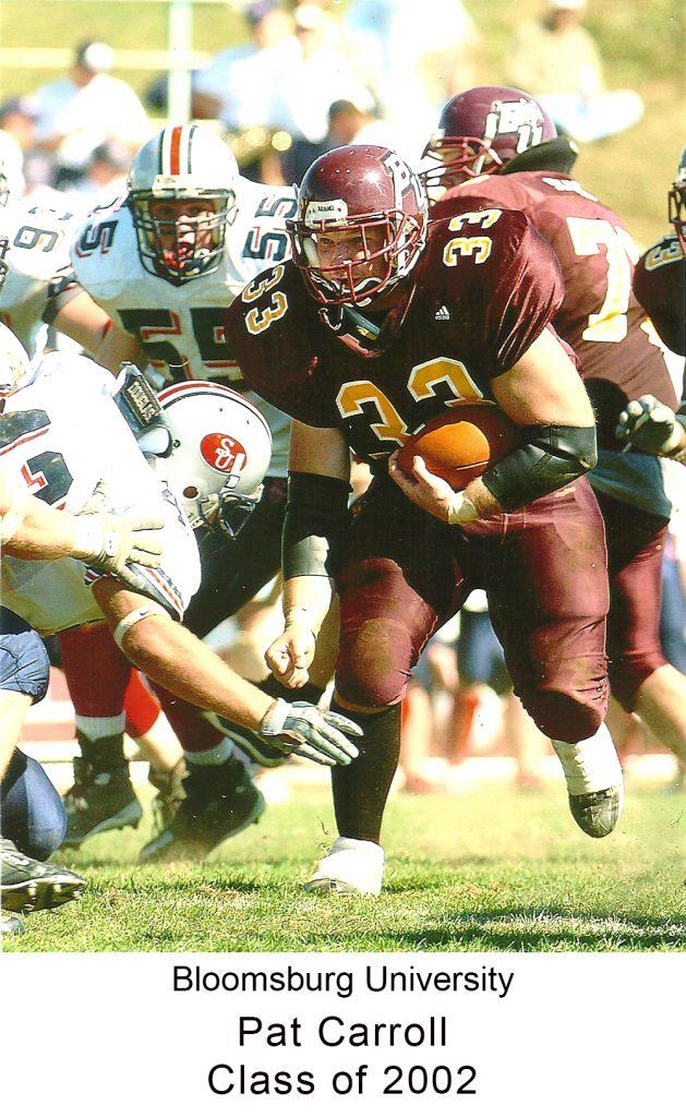 Class of 2002 Pat Carroll Bloomsburg University