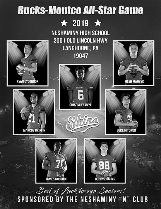Neshaminy HS Ad Bucks_Montco All-Star Game 2019_550W