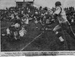 Neshaminy_1960 William Tennent game newspaper action photo 10.04.16
