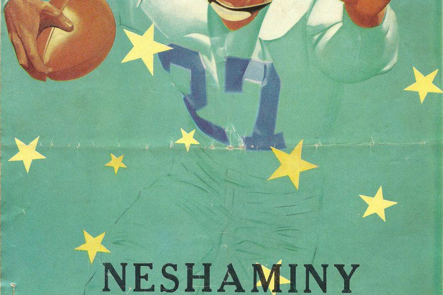 1954-10-9 Cover Neshaminy Vs Delhaas
