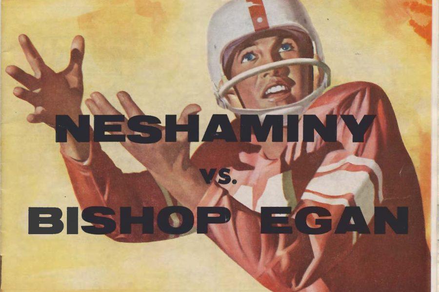 1960-09-09 Cover Neshaminy Vs Bishop Egan