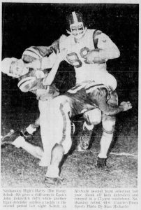 The_Bristol_Daily_Courier_Sat__Sep_10__1960_Harry Schuh in Bishop Egan game 2